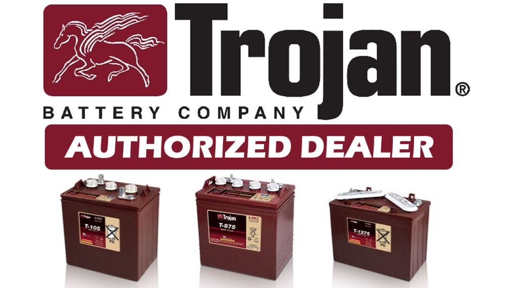 Sandling Golf Car & Trailers carries Trojan Golf Cart Batteries. Golf Cart Battery sales, service, replacement and maintenance in Raleigh, Durham, Oxford, NC.